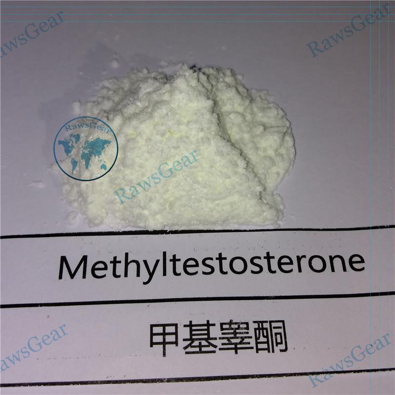 17-Alpha-Methyl-Testosterone / Methyltestosterone Raw powder CAS 65-04-3