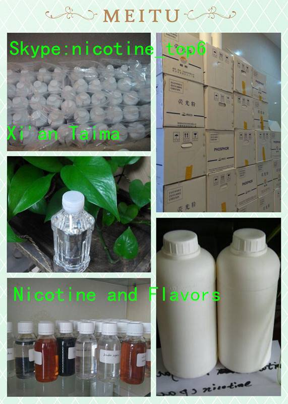 1000mg/ml 99.95% pure nicotine used for eliquid in China.