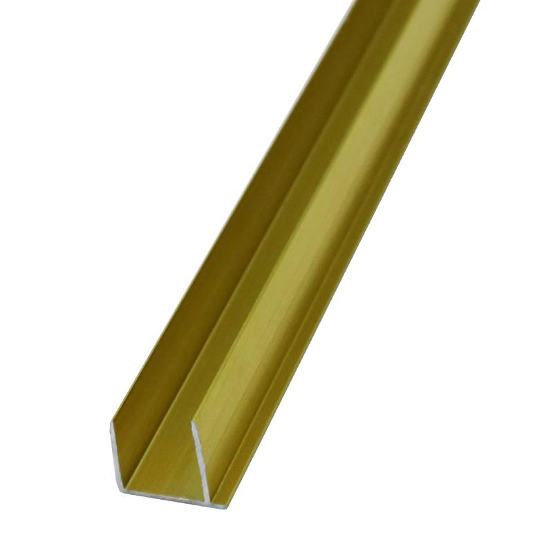 Straight Aluminum Trim For Floor Edgings