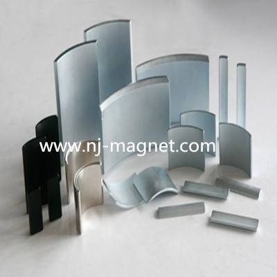 N50 Arc Permanent Nd Magnet Strong Magnet