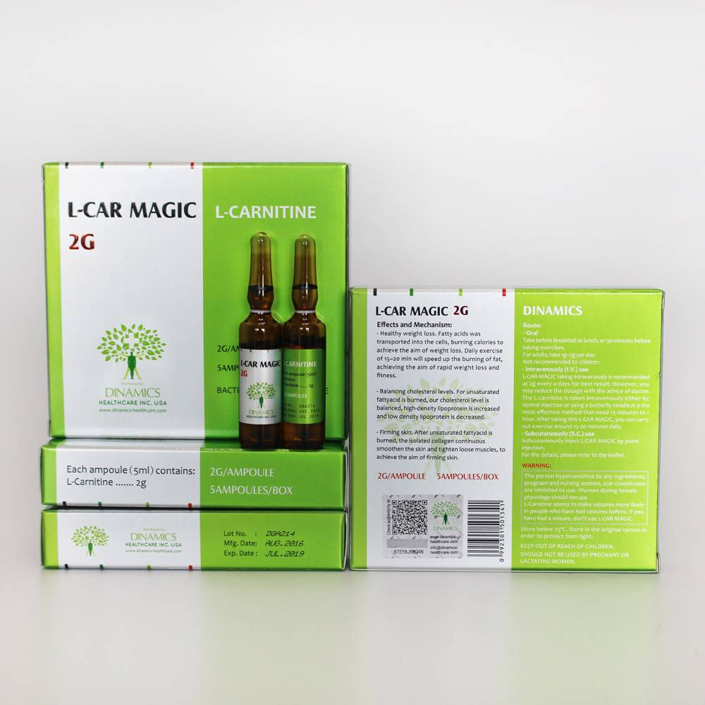 L-CAR MAGIC 2G (L-carnitine Body Slimming Injection)