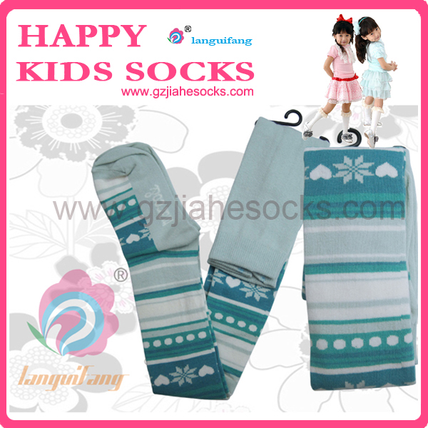 Lovely Girls kids dancing tights at China socks Directly socks factory