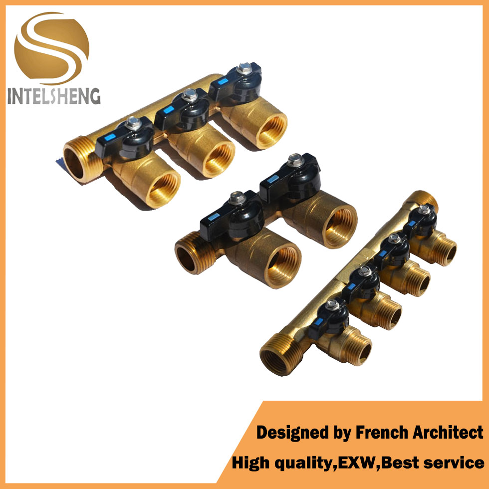 Free Sample Manifold with Ball Valve