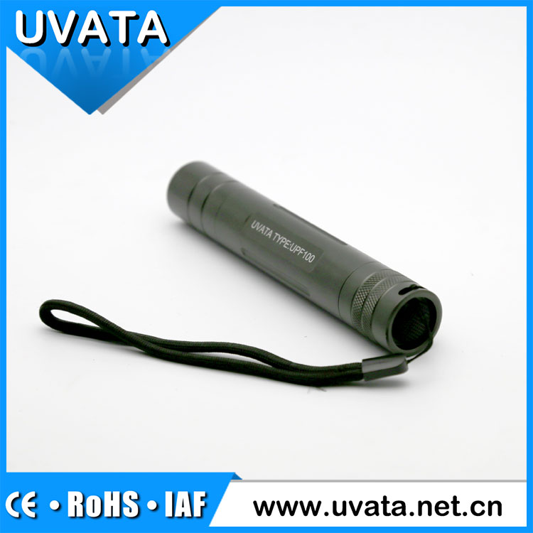 Uvata 365nm OEM UPF100 series portable uv led flashlight