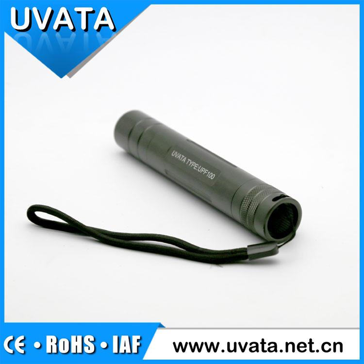 Uvata 365nm OEM UPF100 series portable uv led flashlight