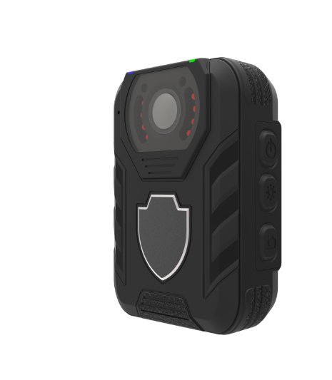 Waterproof Police Body Worn Camera, 36MP Resolution/10m Night-vision 145-degree Wide Angle