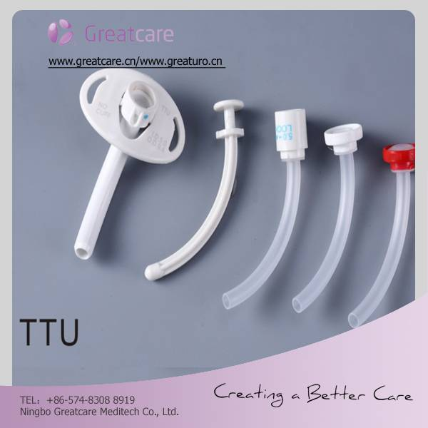 CE/ISO proved tracheostomy tube (trach tube)with inner cannula in medical disposable suppliers