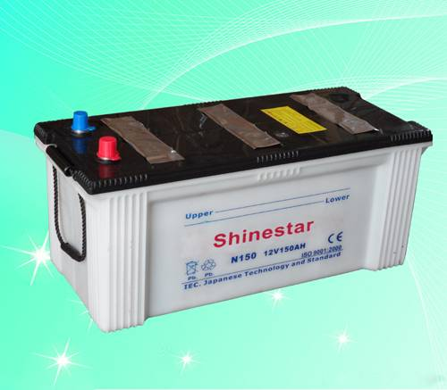 Heavy Duty Truck Battery,Bus battery -N150-12V150AH