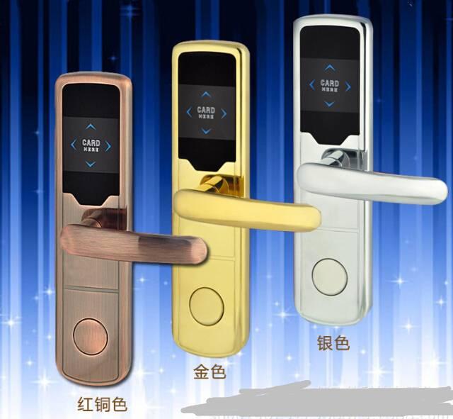 2016 China top security electronic key card hotel door lock