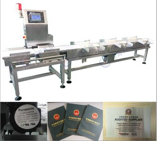 (6 kinds) Weight Sorter Machine/ chicken weight sorting machine
