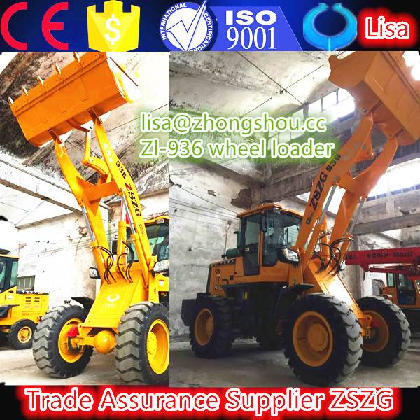 4.wheel loader 3t with luxurious cabin shovel compact loaders