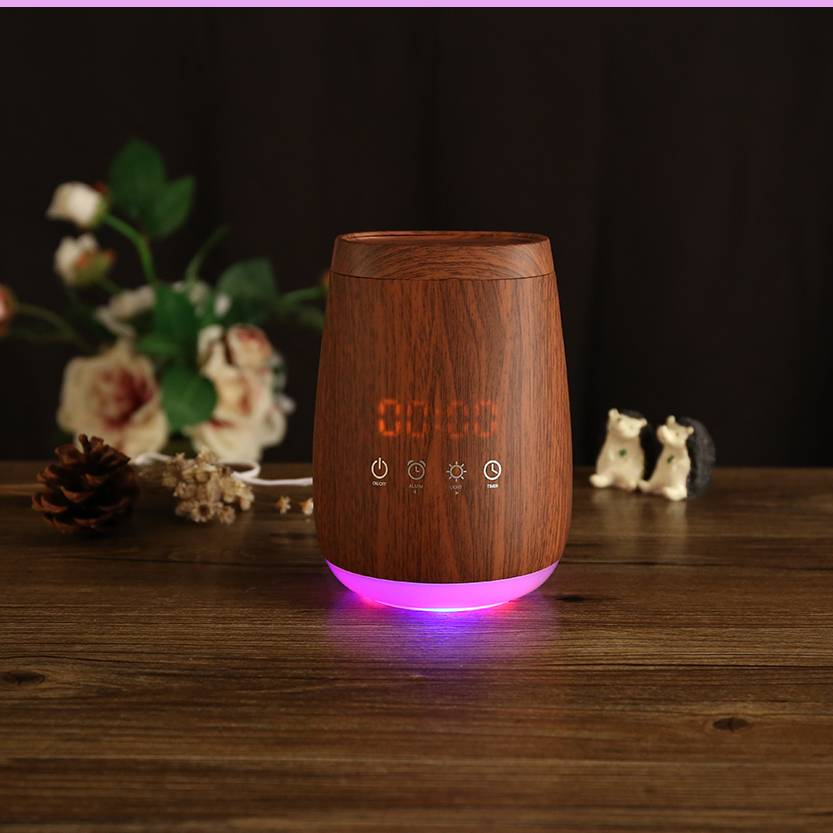SOICARE 100ml wood grain aromatherapy ultrasonic essential oil aroma diffuser