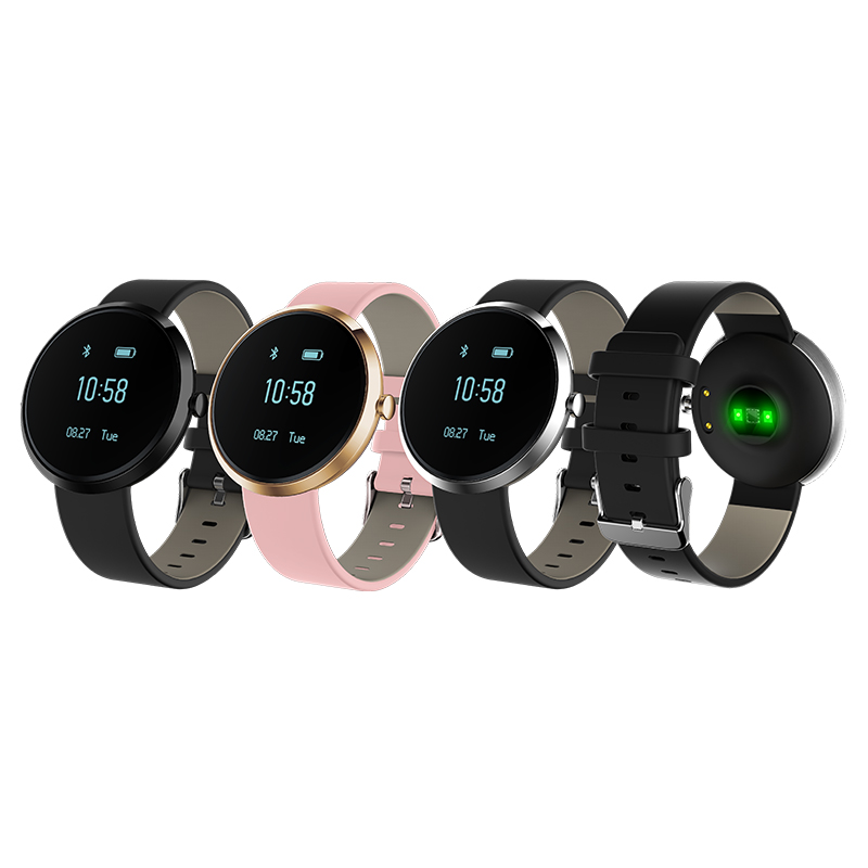 2017 New blood pressure test heart rate smart bracelet step counter sleep monitor with factory price