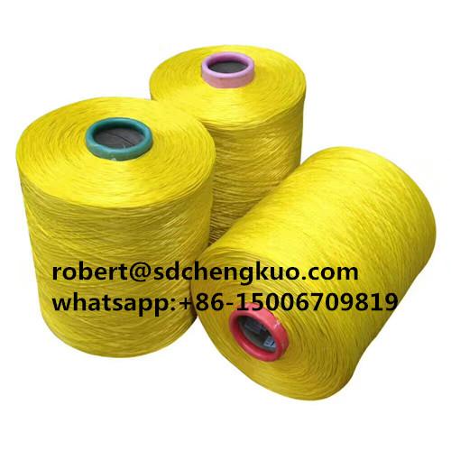 high tenacity 1000d pp twisted yarn 60tpm twisted yarn