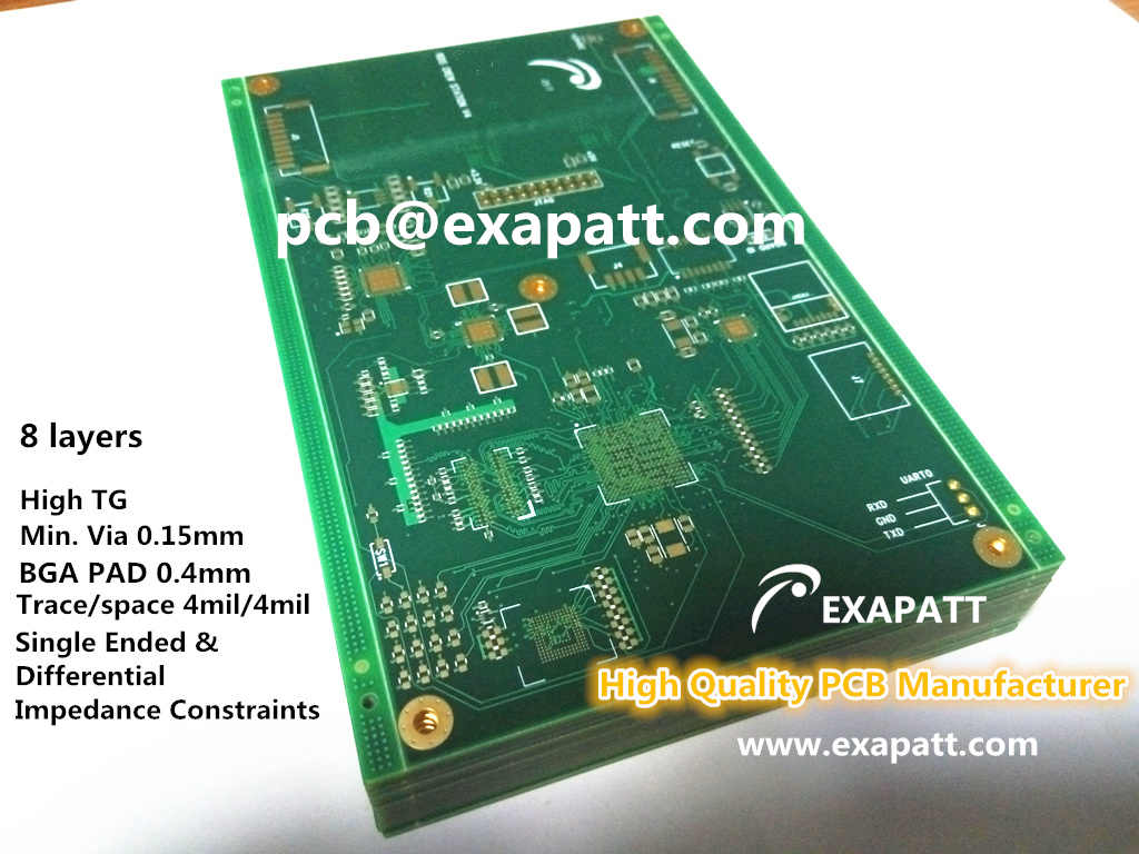 Impedance Control High TG Multilayer PCB