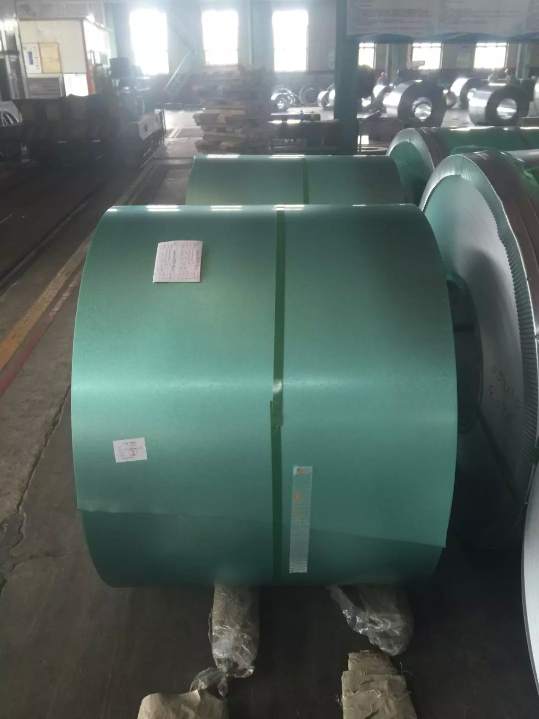 green color galvalume steel coil