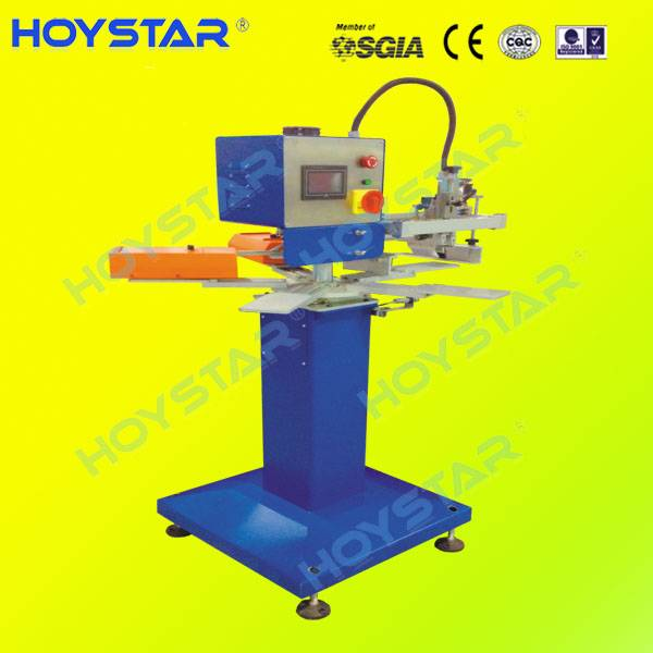One color rapid screen printing machine