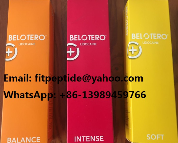 Belotero Filler Stabilized Hyaluronic Acid Gel Injections for Plastic Surgery