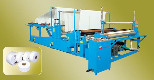 Jumbo Roll Slitting Machine (PZJ-I)