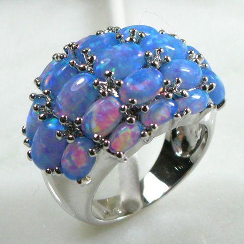 Silver Opal jewelry