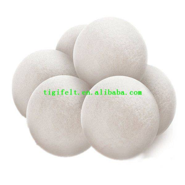 No Chemicals wool laundry balls
