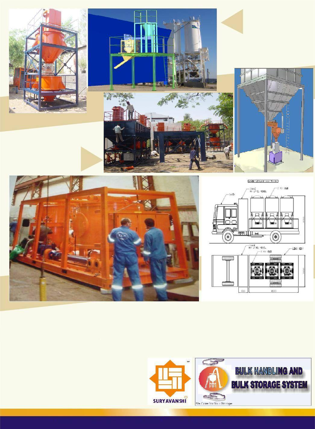 Cement, Ready Mix Concrete & Batching Plant Machinery & Equipments. Cement / Fly ash Silos.