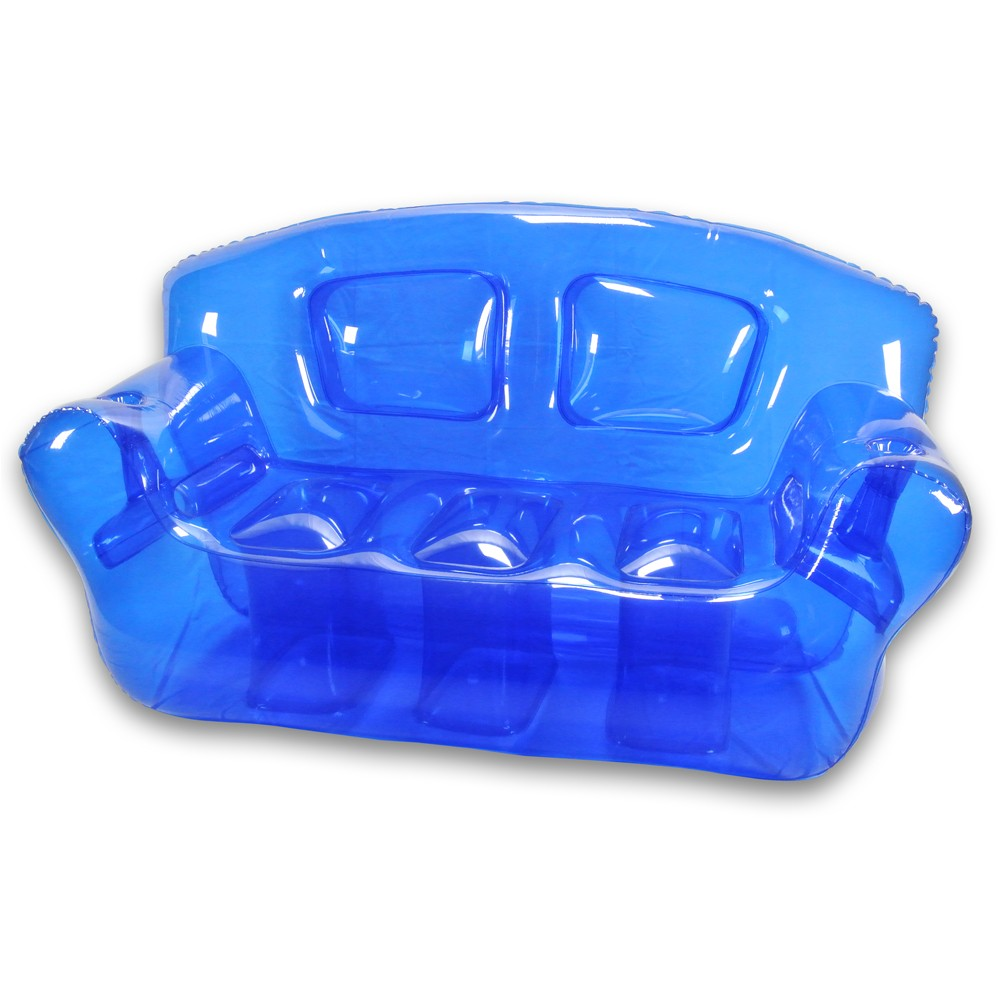 Custom PVC Vibrant inflatable bubble couch with the polycolor and transparence