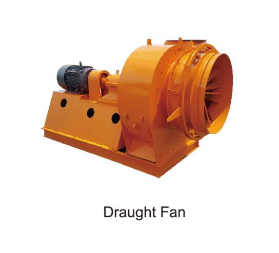 draught fan of asphalt mixing plant and concrete batching plant