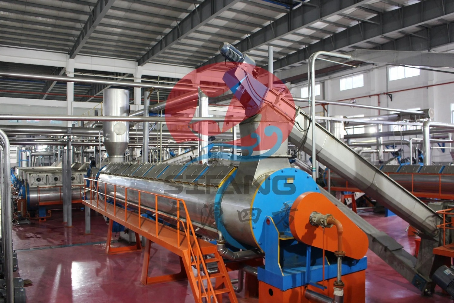 Complete Line of Fishmeal and Oil Production Line / Fish Meal Production Line