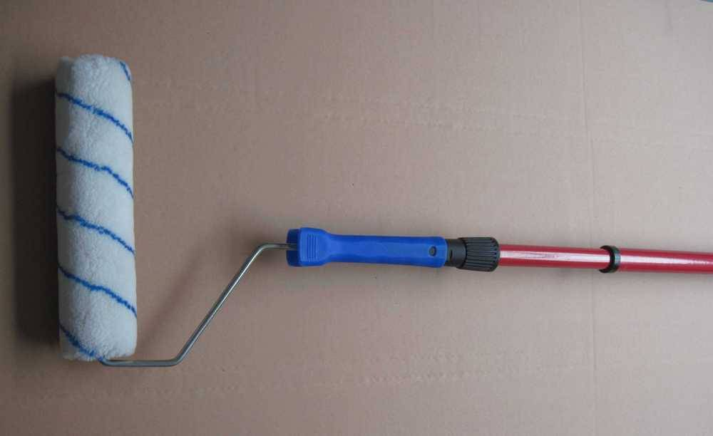 eco-friendly high quality iron extension handle pole/telescopic handle pole for paint roller