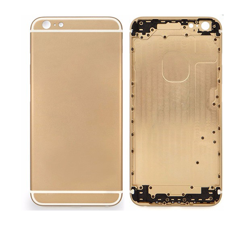 For iPhone 6 Plus Back Housing Only Back Cover - Gold