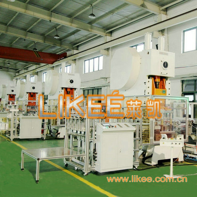 Aluminium foil container making machine factory