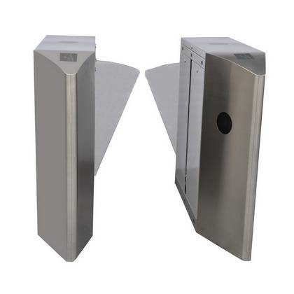 IWG-313 Beautiful Design Single Or Double Core Flap Barrier Wing Gate With Automatic Reset 110V / 22
