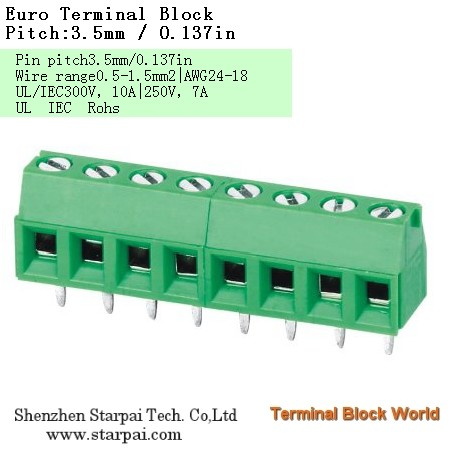 Europe Terminal Block Wire Protector Terminal Block Type High Power Automotive Terminal Block Connec