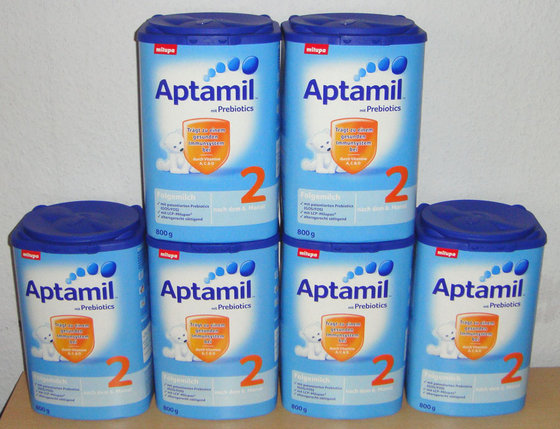 NEW Nutricia Aptamil with Pronutra + Baby and Infant