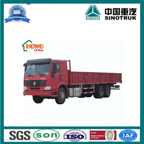 6x4 China manufacture HOWO cargo truck For Sale