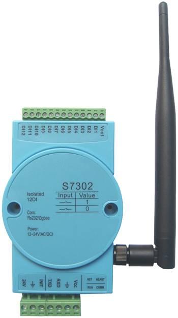 S7302:12-ch isolated digital input,zigbee wireless,modbus rtu S7302