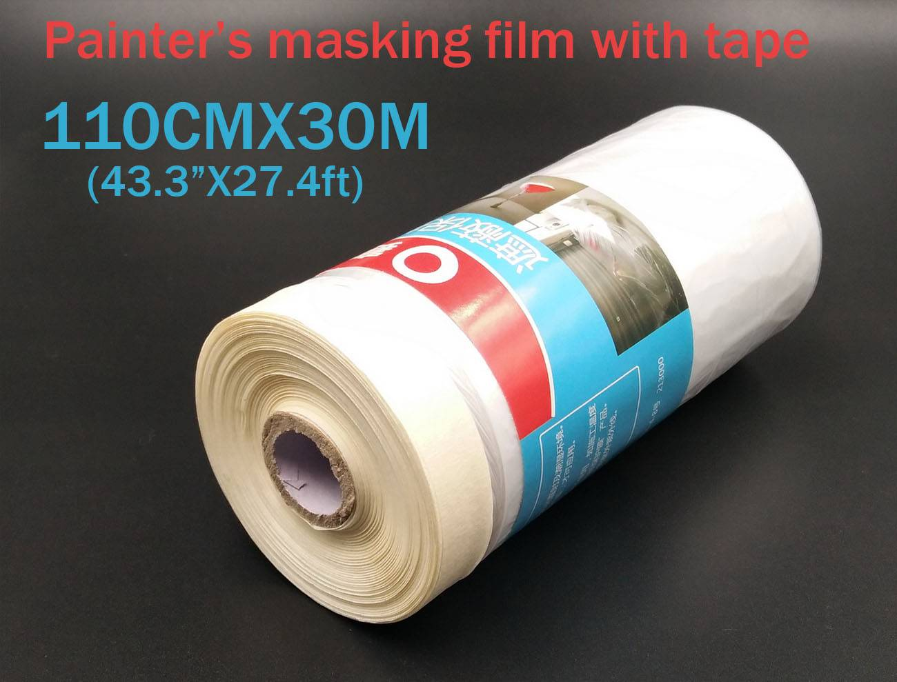 CAR painting masking film tape