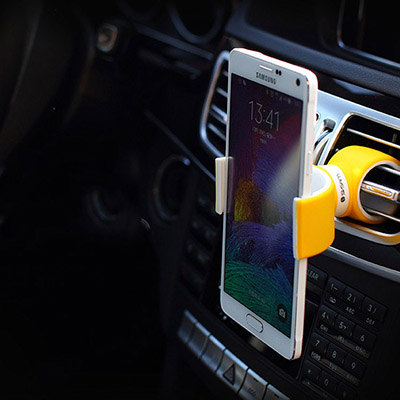 "Multi function ""C"" shape phone holder"