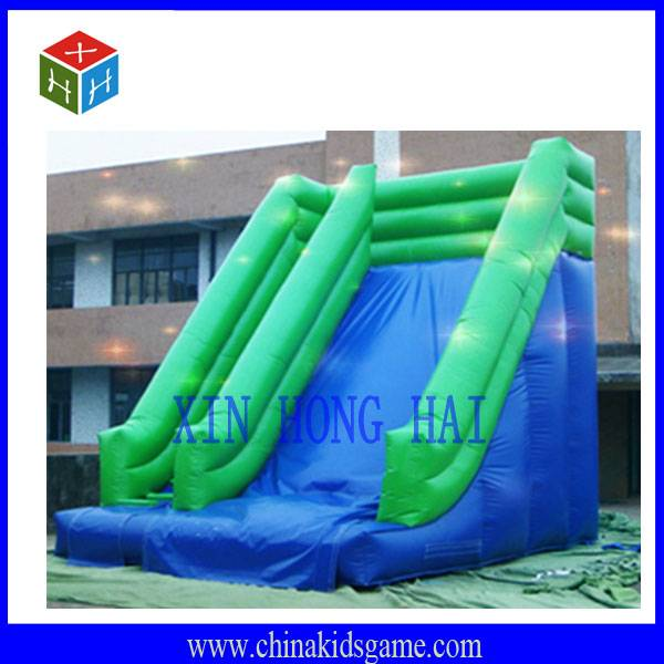 KI-XHH2034 New outdoor commercial inflatable slide with blower