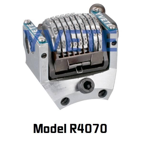 9 digits rotary numbering machine