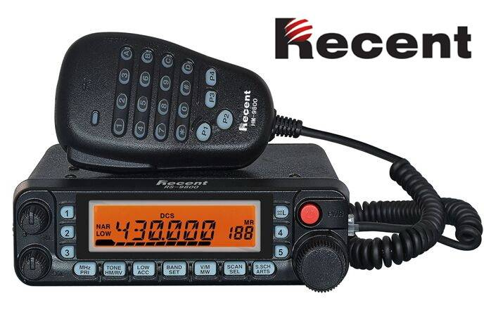 RS-9800 Dual Band Mobile Radio In-vehicle radio Mounted radio