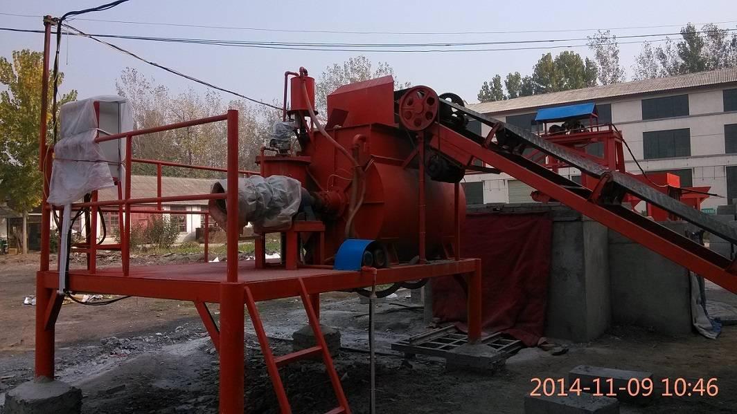 China Lightweight concrete bricks factory