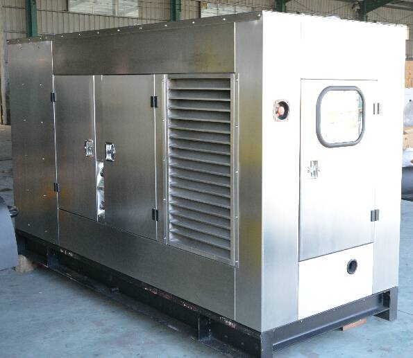 Diesel Generators with Perkins Engine Stamford Alternator 90kVA at 50Hz Stainless steel Silent Type