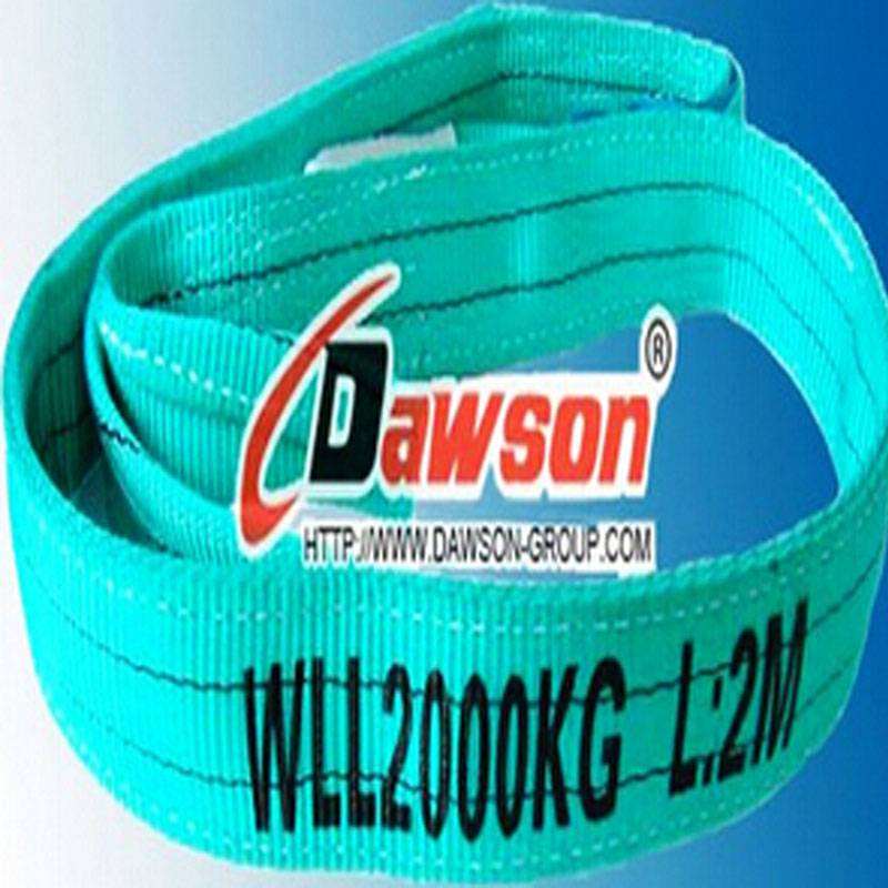 En12192-1flat Web Slings of Wll 2000kg