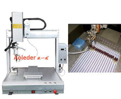 Robotic Soldering for LED,LED Soldering Machine,CWDH-411