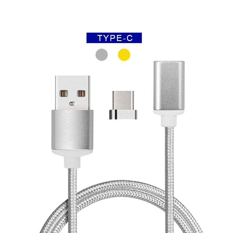 Wholesale magnet charging cable nylon braided android usb cable from Aotman