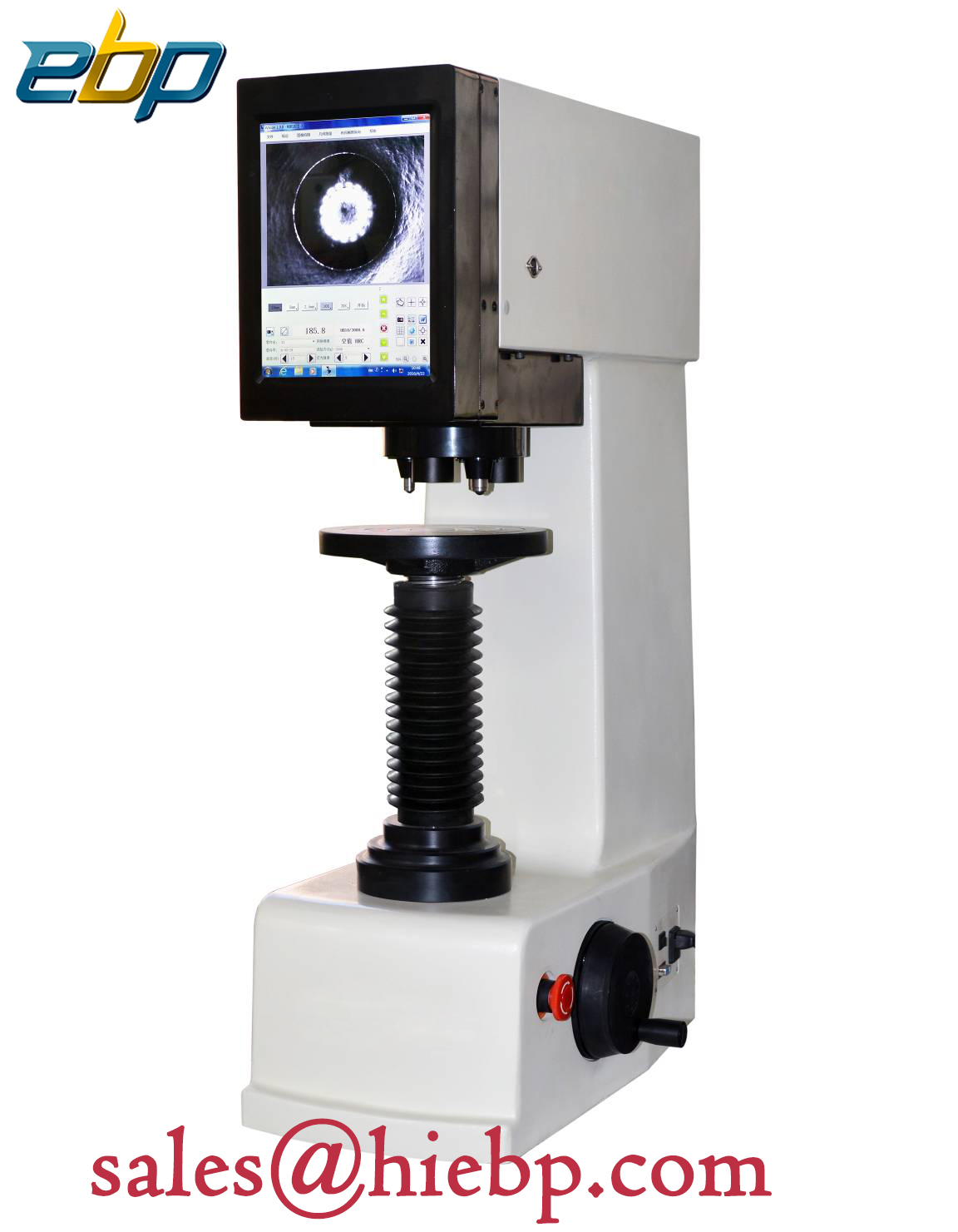 EBP Fully Automatic Three Indenters Touch Screen Digital Brinell hardness tester B-3000AT