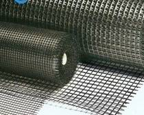 Biaxial glass-fiber geogrid