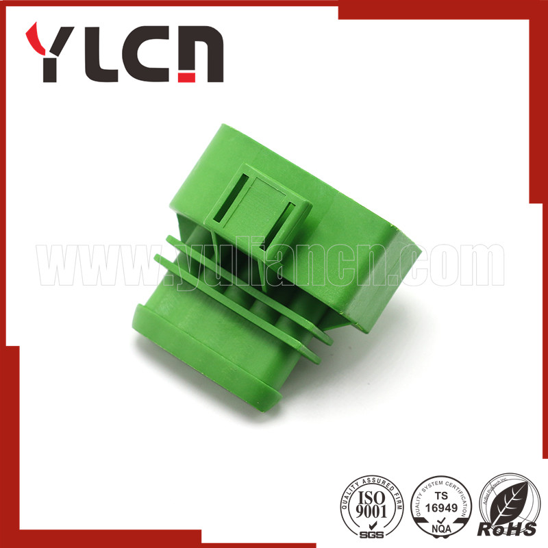Free samples 4 pins automotive wire connector green male waterproof electrical connector pbt gf10